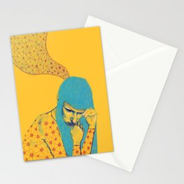 Nerves and flowers Stationery Cards