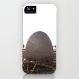 Patience Egg iPhone Case