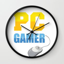 PC Gamer Wall Clock