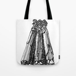 power of three Tote Bag