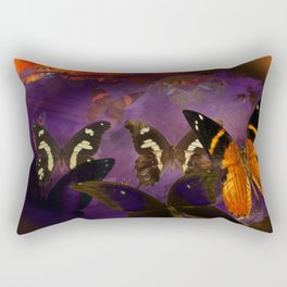 Butterfly flee Rectangular Pillow