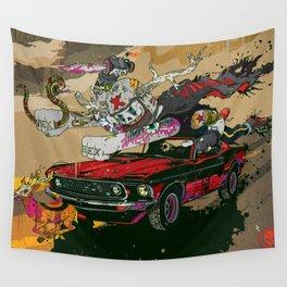 Psilopsychonaut Wall Tapestry
