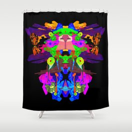 ULTRAWORLD EXODUS Shower Curtain