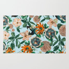 Forest Birds #nature #tropical Rug