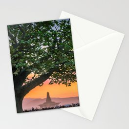 Tree of Ténéré with Temple Stationery Cards