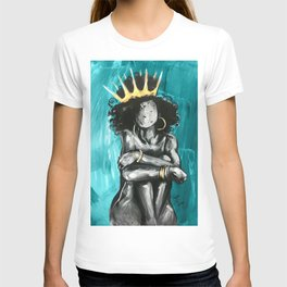 Naturally Queen IX TEAL T-shirt