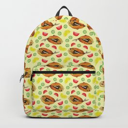Milkfish Pattern Backpack