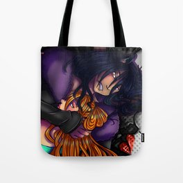 wolf love Tote Bag
