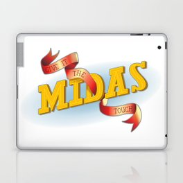Give It The Midas Touch Laptop & iPad Skin