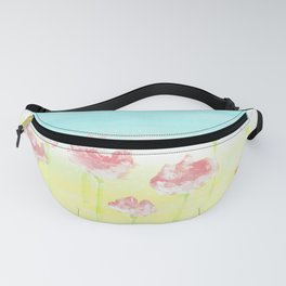 Flowers in the country Fanny Pack
