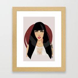 Bely Basarte  Framed Art Print