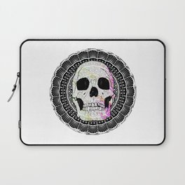 Sugar Skull Mandala Laptop Sleeve