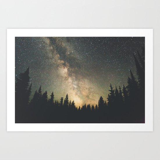 Galaxy IV Art Print