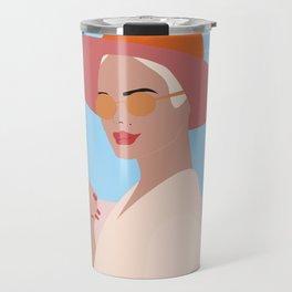 Boss Lady #illustration Travel Mug