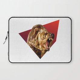 Low Poly Bear Laptop Sleeve