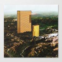 dallas Canvas Prints featuring Dallas by Ruben Martinho