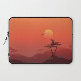African sunset Laptop Sleeve