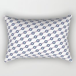 US Air force Style insignia Pattern Rectangular Pillow