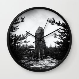 MAGNETIC ROCK Wall Clock