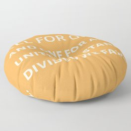 The Three Musketeers Quote Floor Pillow