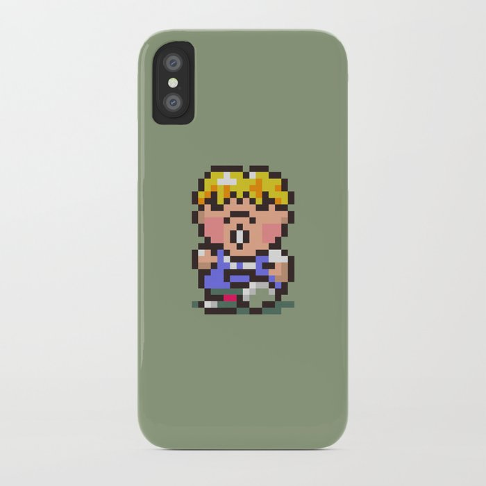 Pokey Minch - Earthbound/Mother 2 iPhone Case by sheamkennedy