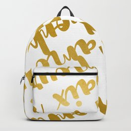 Peace Love Happiness #society6 #decor #buyart Backpack