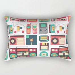 RETRO TECHNOLOGY 1.0 Rectangular Pillow