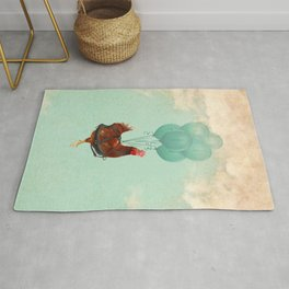 Chickens can't fly 02 Rug