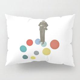 Bird Man Pillow Sham