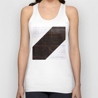 wood Tank Tops featuring wood by ONEDAY+GRAPHIC