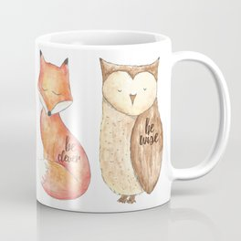 braveclever&wise Coffee Mug