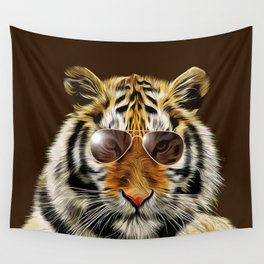 In the Eye of the Tiger Wall Tapestry