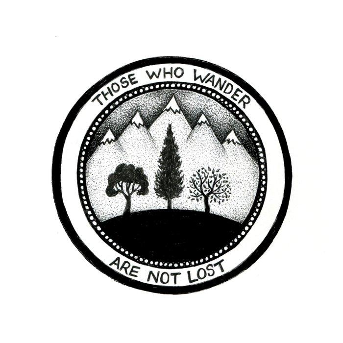 Wanderling Woods Duvet Cover