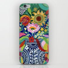 Late Summer Blooms iPhone & iPod Skin