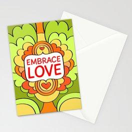Embrace love Stationery Cards