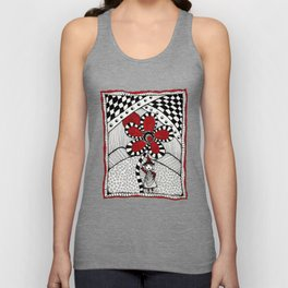 Come Out and Play by Heather Saulsbury Unisex Tank Top