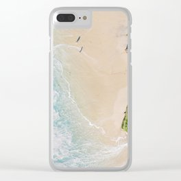 Summer Sands Clear iPhone Case