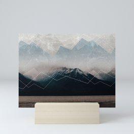 When Winter comes Mini Art Print