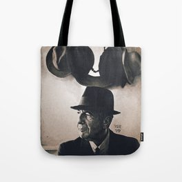 Leonard Cohen hats Tote Bag