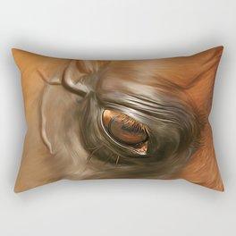 Arabian Stallion 1g Rectangular Pillow