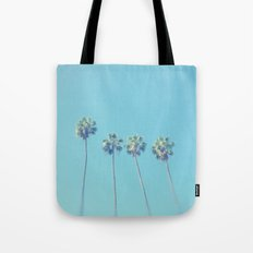 Blue Paradise Tote Bag