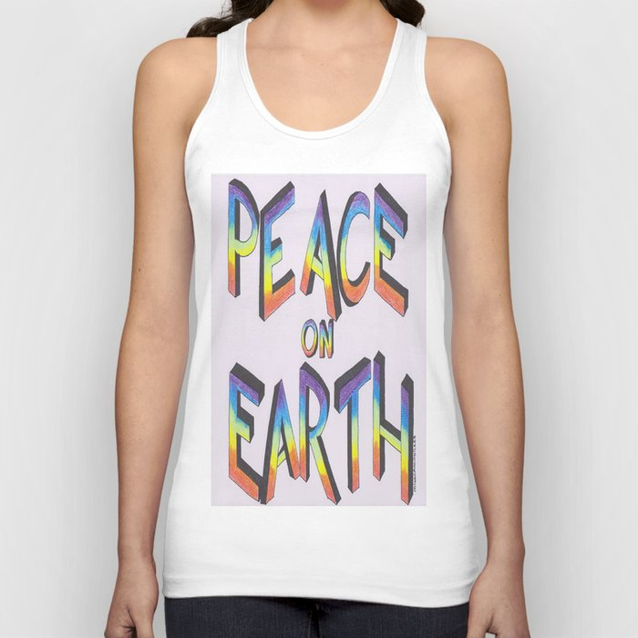 Let there be peace Unisex Tank Top