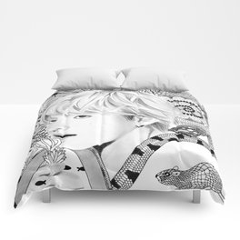 BTS Taehyung V maze Comforters