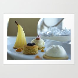 Dessert Nautilus Restaurant Art Print