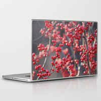 sparkles Laptop & iPad Skins featuring Christmas Sparkles by BACK to THE ROOTS