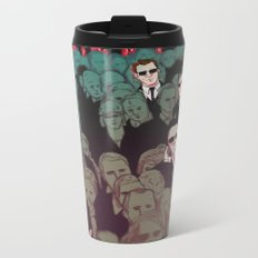 The matrix Metal Travel Mug