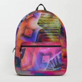 Trippy Egyptian Backpack