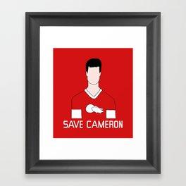 F*ck Ferris, Save Cameron Framed Art Print