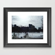 Boston Common Framed Art Print