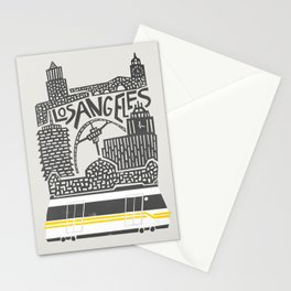 Los Angeles Cityscape Stationery Cards